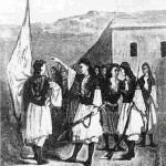 Στη μεγάλη επανάσταση του 1866-1869 συμμετείχαν και οι Λακκιώτισσες. Το Νοέμβριο του 1866 εκατό ηρωίδες, πολεμώντας με πέτρες και όπλα, υπερασπίστηκαν μόνες τους, απέναντι σε πολλαπλάσιους Τούρκους, με επιτυχία, ένα στρατόπεδο ανεφοδιασμού των επαναστατών. (Σημ.: Το πρωτότυπο της φωτογραφίας βρίσκεται στο Πολεμικό Μουσείο Χανίων.)