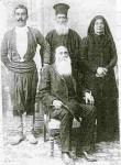 Αρχές 20ου αιώνα – ταξιδεύει, μαζί με συγχωριανούς του, προς τους Αγίους Τόπους